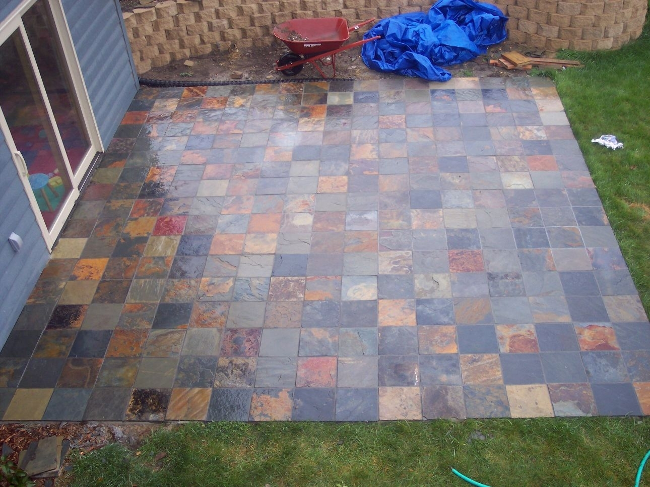 New Rubber Deck Tiles