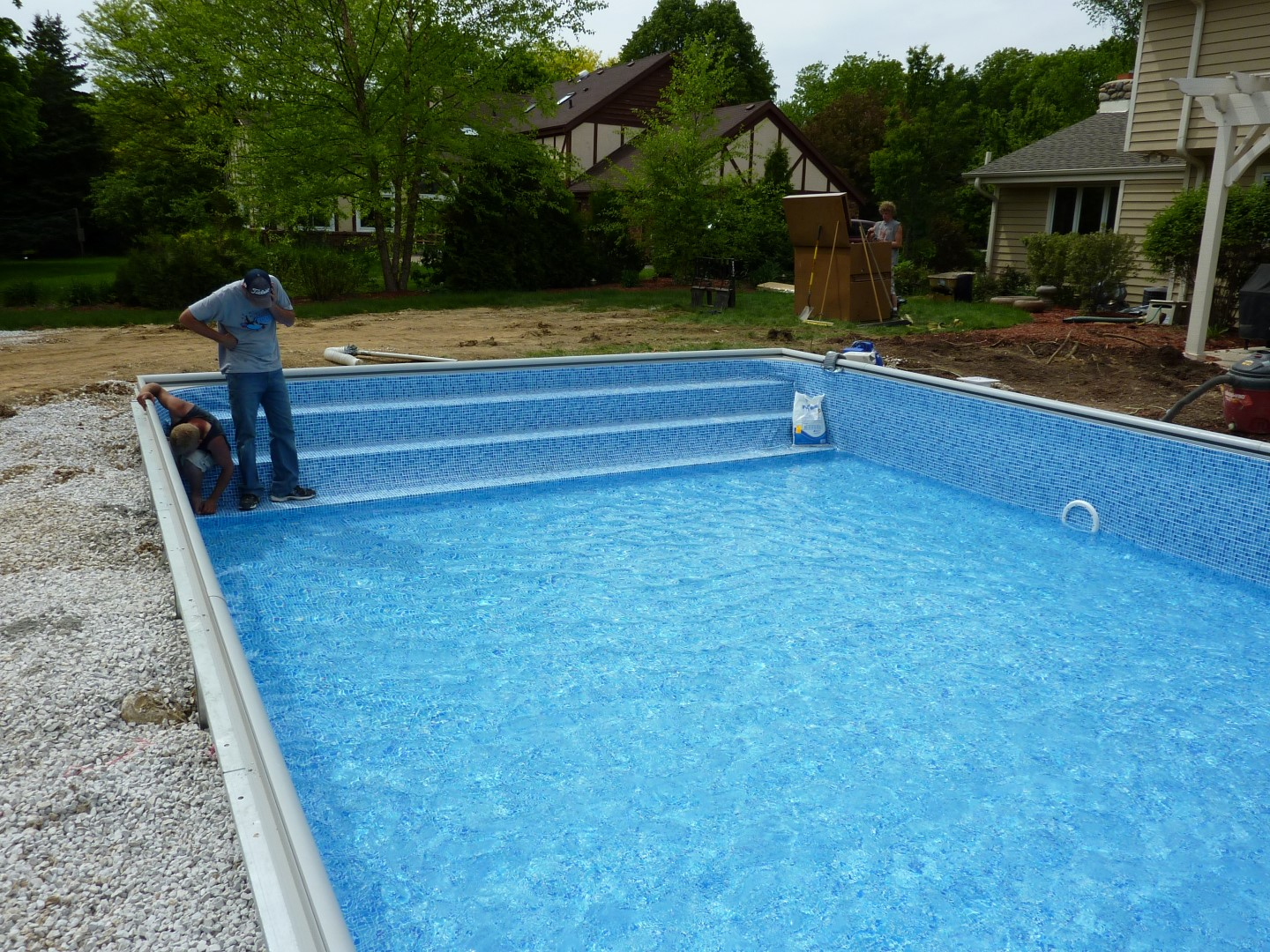 Steps Doughboy Swimming Pools : Rickyhil Outdoor Ideas - Keep ...