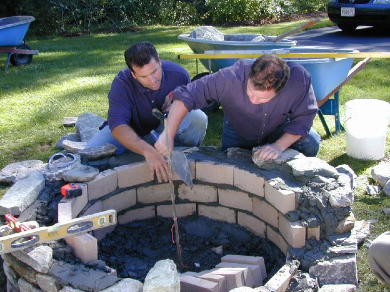 Amazing Outdoor Stone Fire Pit