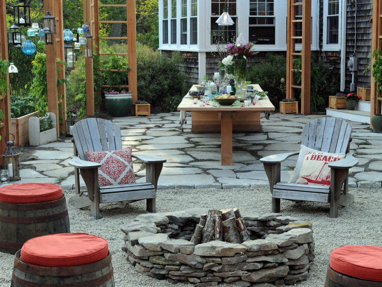 Best Outdoor Stone Fire Pit