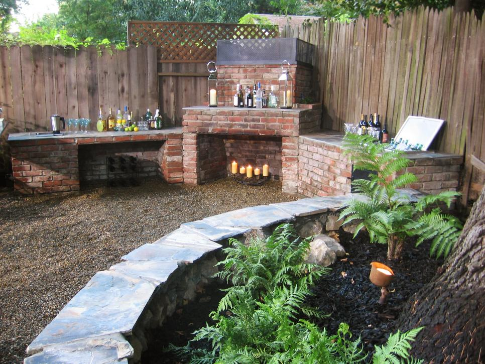 Brick Outdoor Chimney Fire Pit