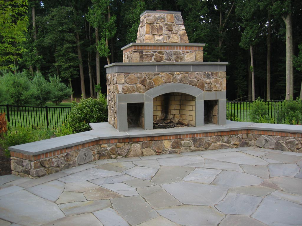 Warmth And Comfort Outdoor Chimney Fire Pit — Rickyhil ... on Backyard Chimney Fireplace id=11600