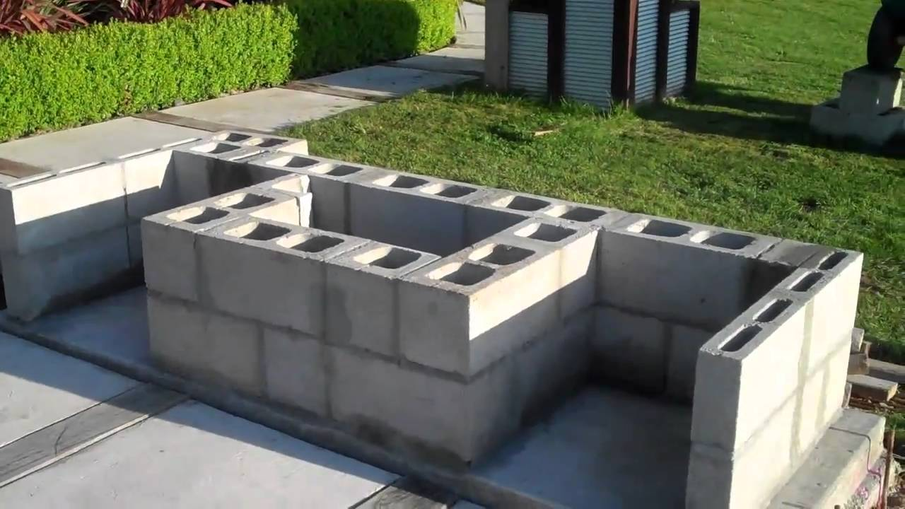 Cinder Block Outdoor Fireplace Images