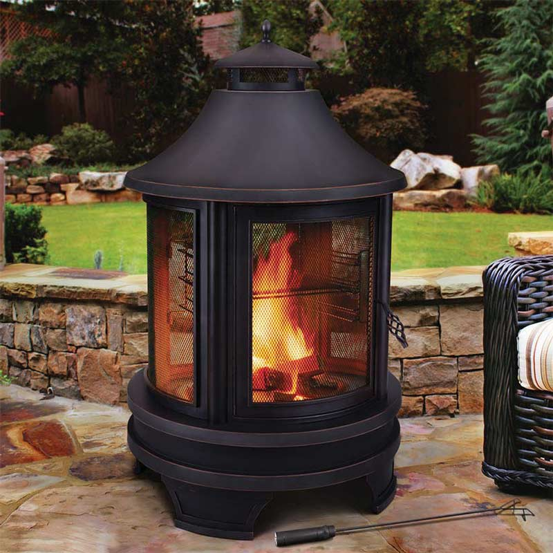 Cooking Costco Outdoor Fireplace