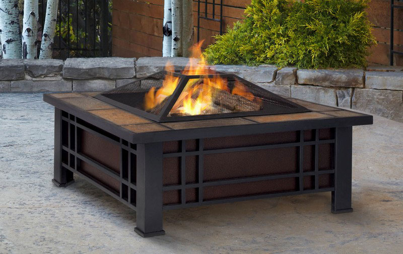 Costco Outdoor Fireplace: Good Way To Warm Up Afternoon ... on Costco Outdoor Fireplace id=62977