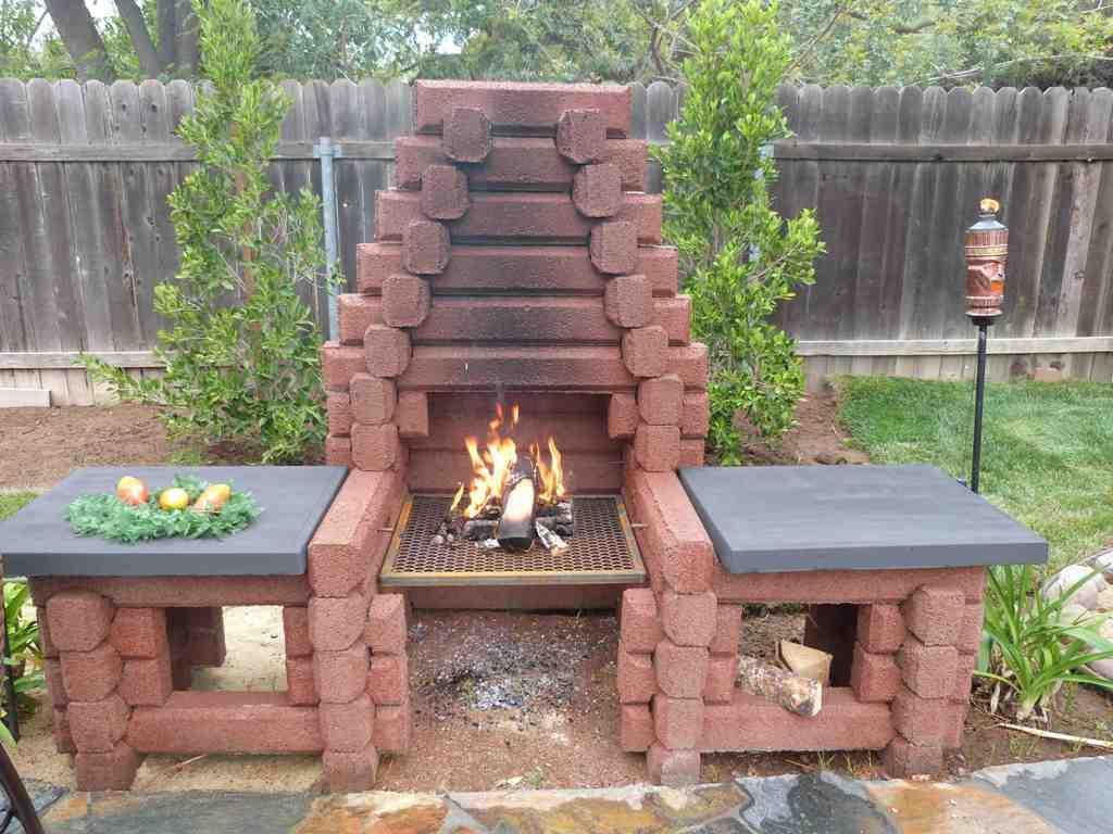 DIY Precast Outdoor Fireplaces