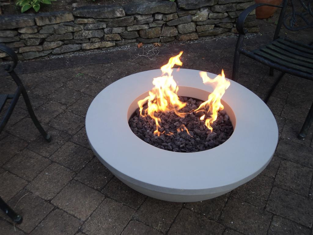 Elite Modern Outdoor Fire Pit