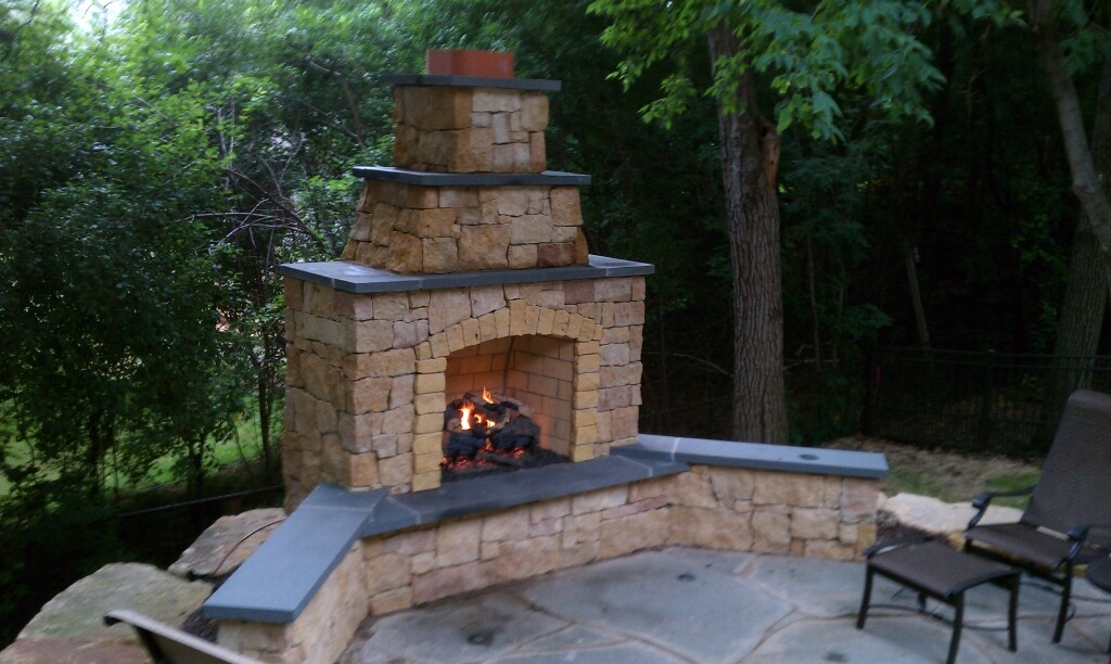 Excellent Outdoor Wood Burning Fireplace — Rickyhil ...