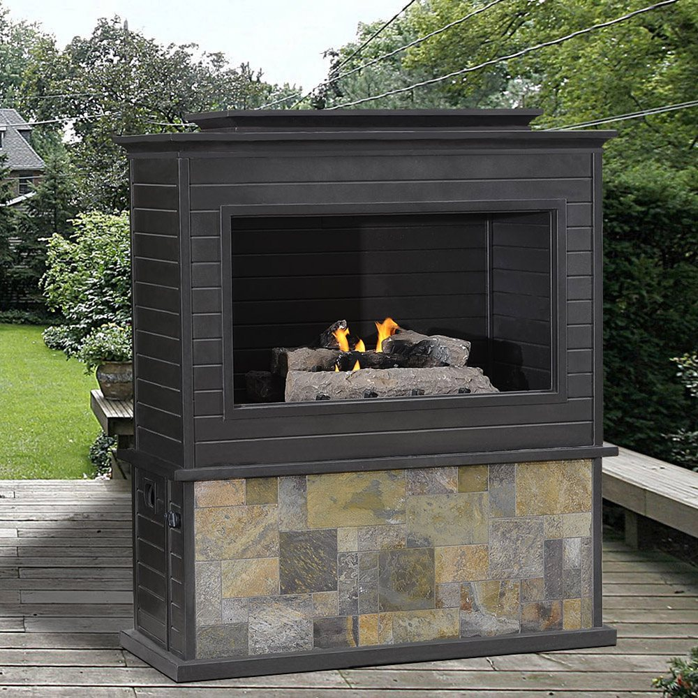 Gas Lowes Outdoor Fireplace Rickyhil Outdoor Ideas Stylish