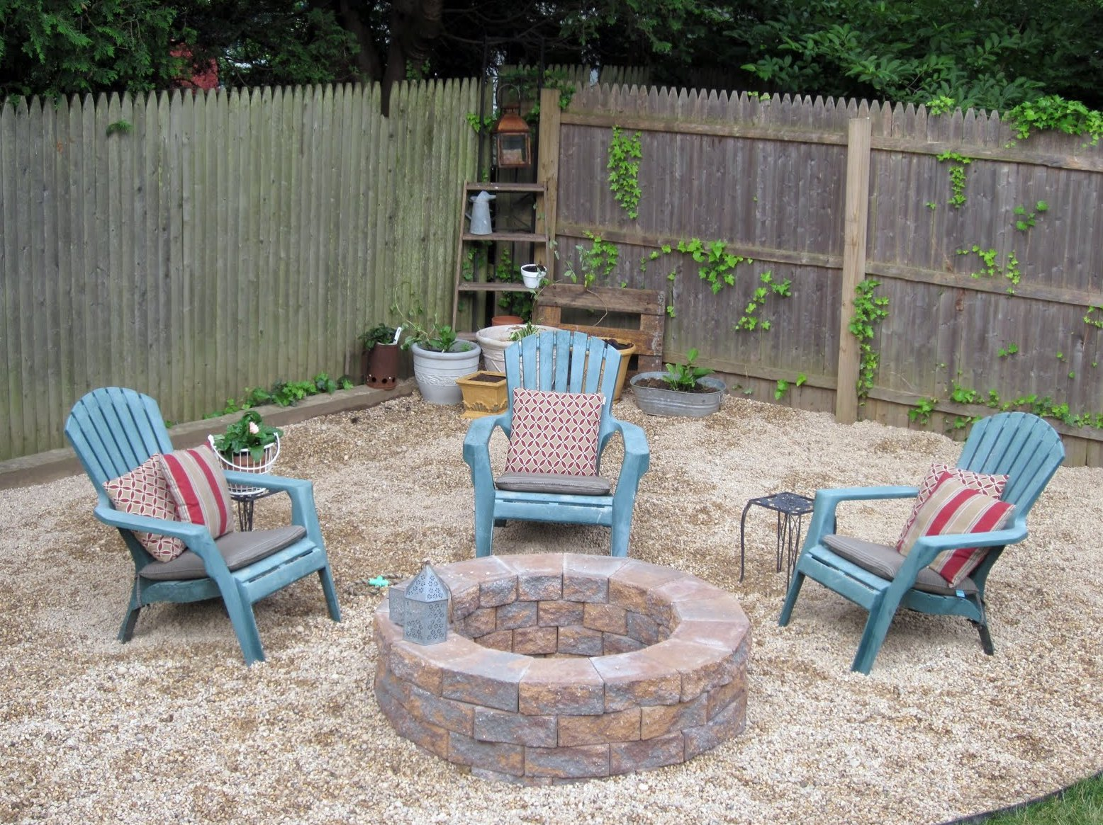Good Outdoor Stone Fire Pit