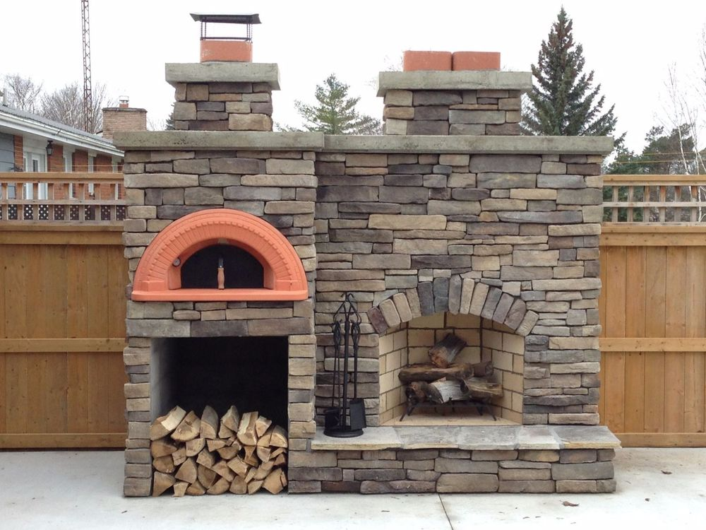 Great Outdoor Fireplace Pizza Oven
