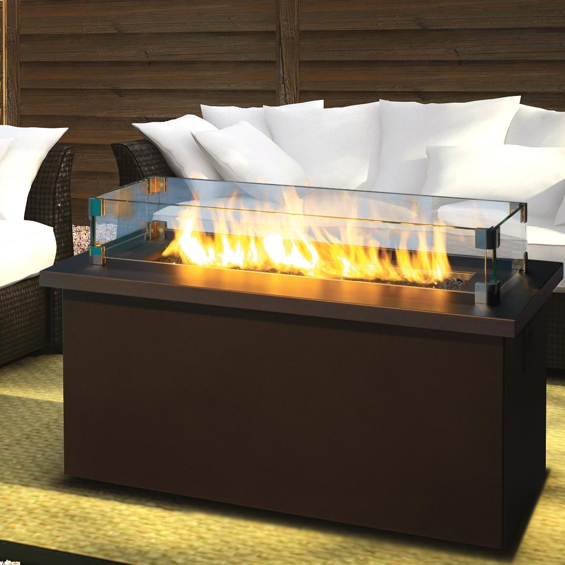 Ideas Outdoor Glass Fire Pit