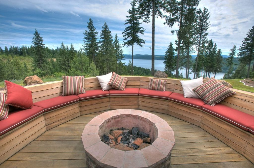 Outdoor Fire Pit Seating Images