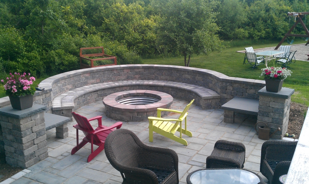 Outdoor Fire Pit Seating Sets