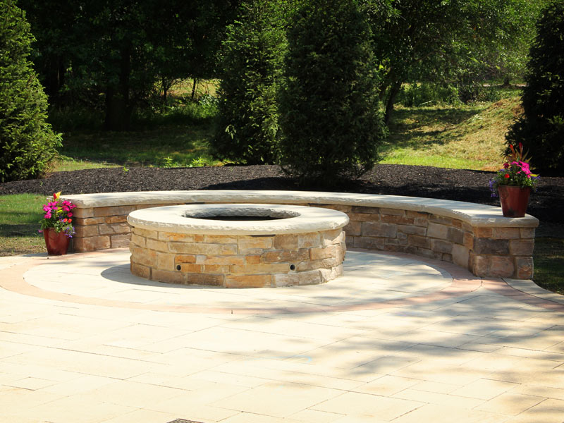 Perfect Outdoor Stone Fire Pit