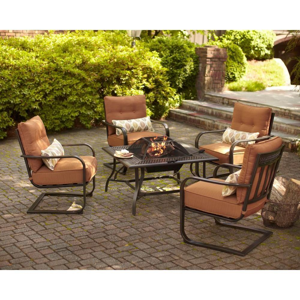 Fun With Hampton Bay Outdoor Fire Pit Rickyhil Outdoor Ideas