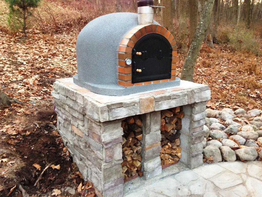 Small Outdoor Fireplace Pizza Oven Rickyhil Outdoor Ideas