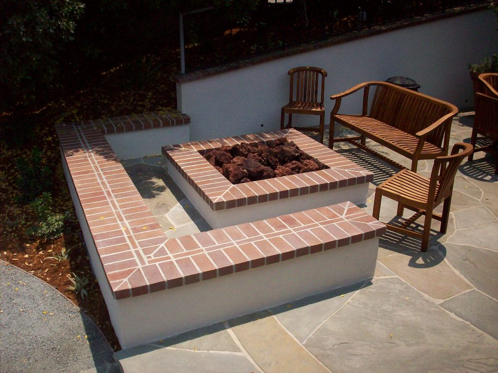Brick Fire Pit Cover