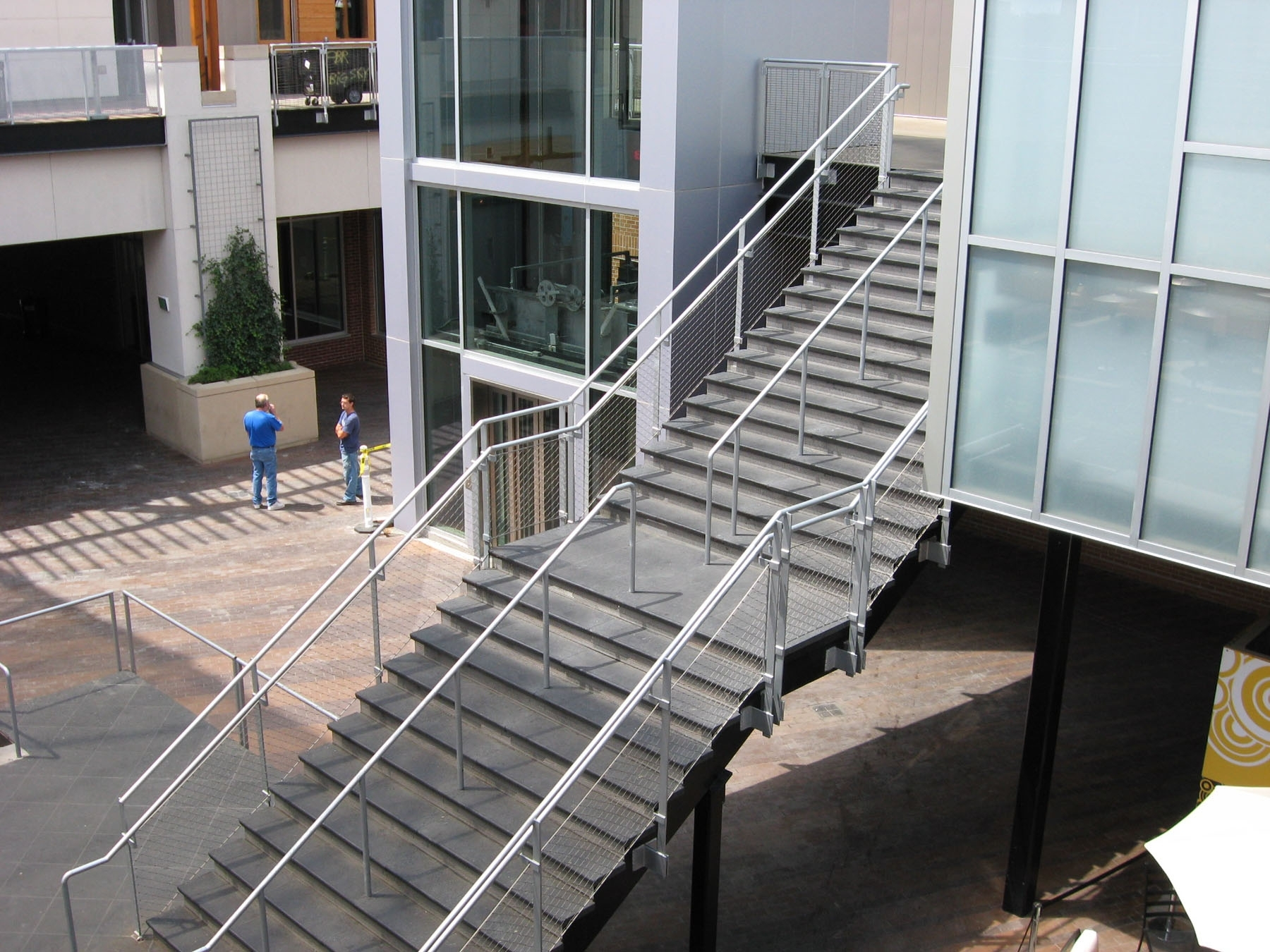 Awesome Outdoor Stair Railing