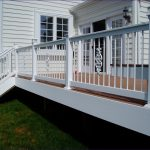 Outdoor Ideas Wonderful Outdoor Stair Railing Simple Deck