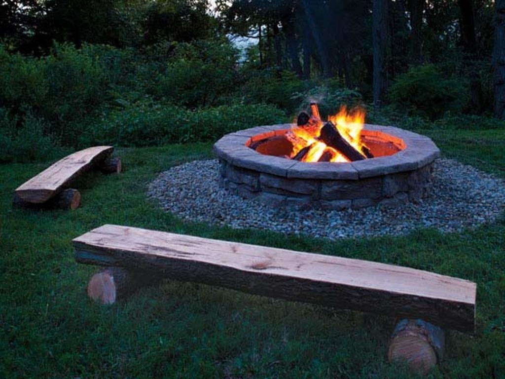 Stylish Diy Fire Pit Delightful Outdoor Ideas