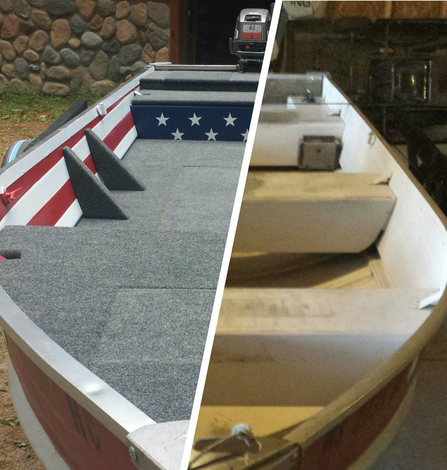 Aluminum Deck Boat Fishing
