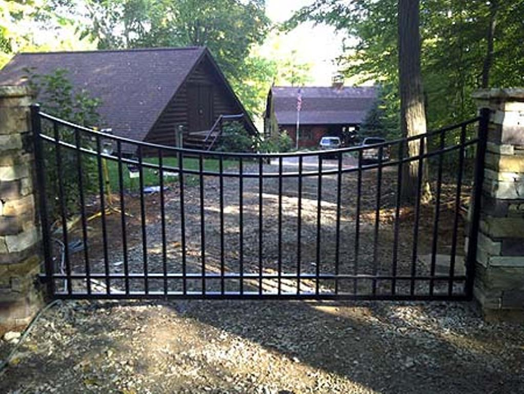 Aluminum Driveway Gates Automatic Rickyhil Outdoor Ideas
