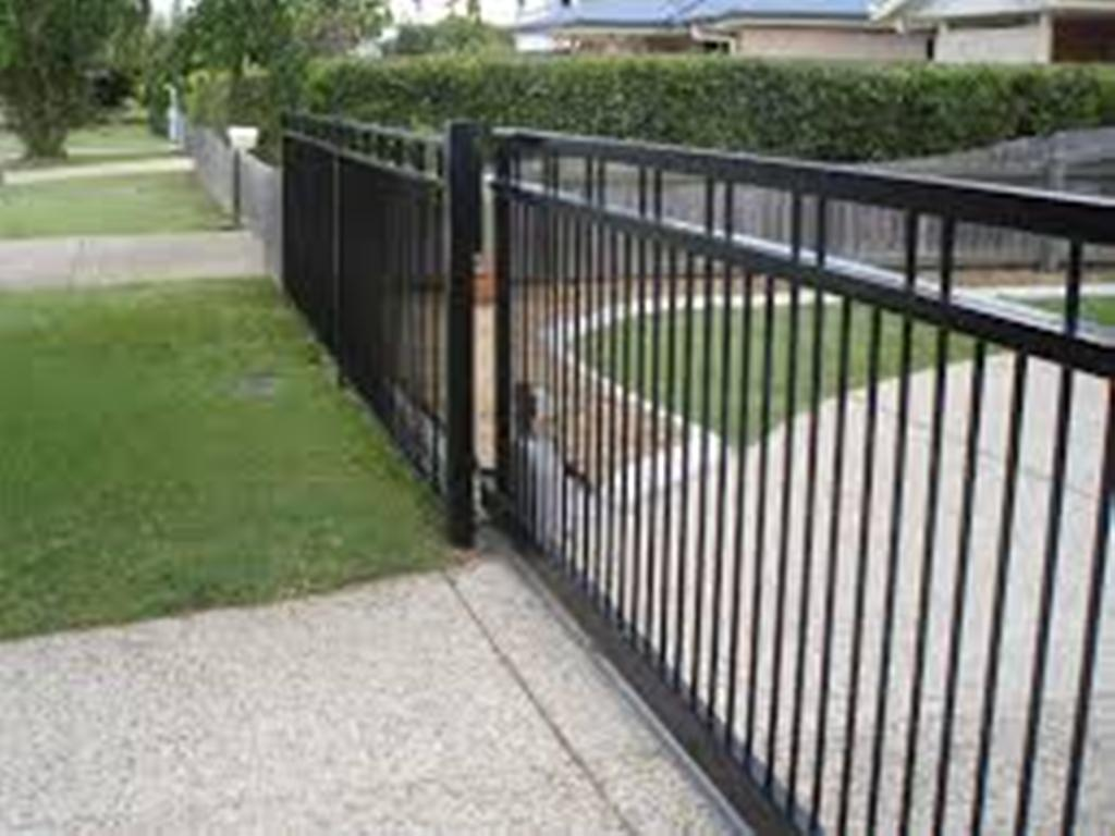 Aluminum Driveway Gates Automatic Rickyhil Outdoor Ideas