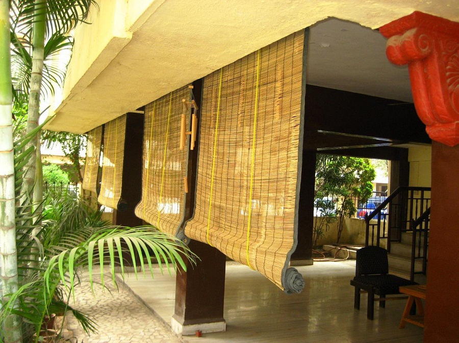 Awesome Bamboo Porch Shades