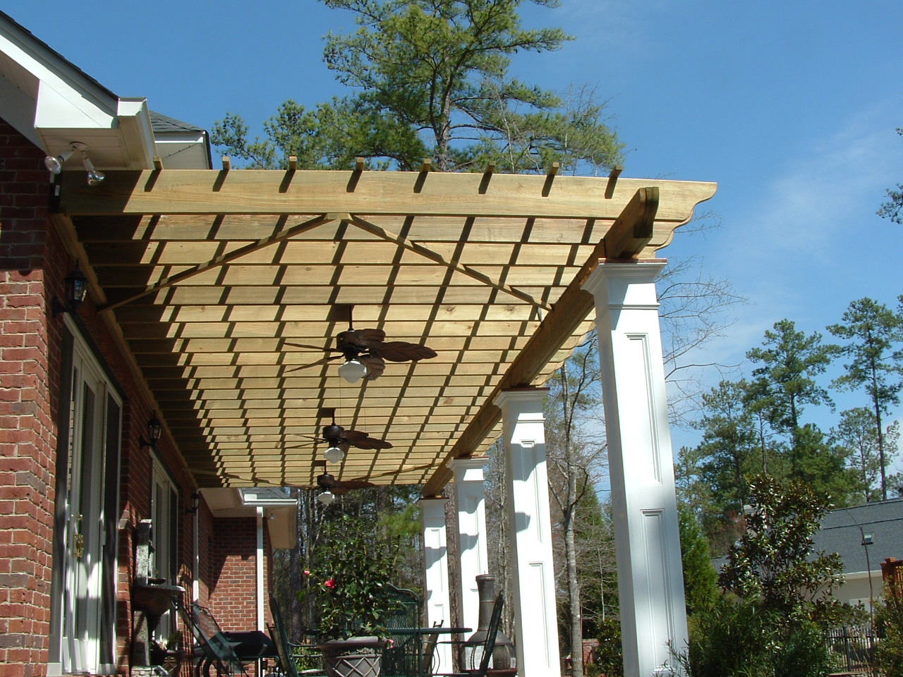 Awesome Front Porch Pergola