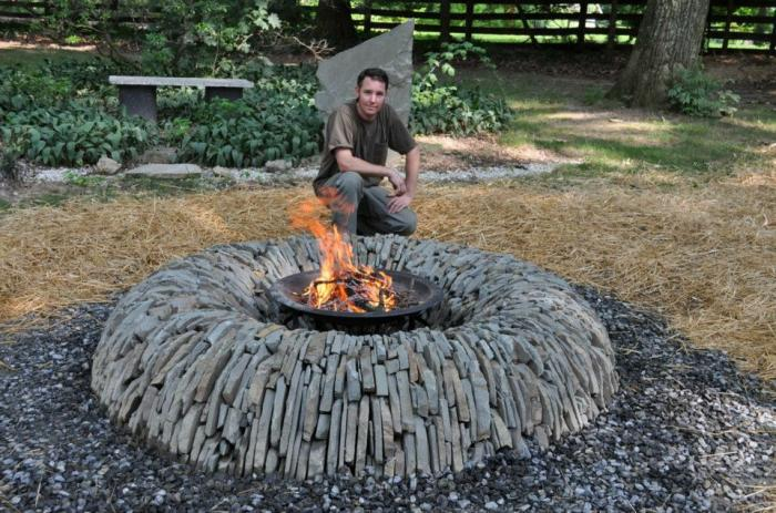 Backyard Diy Outdoor Fire Pit