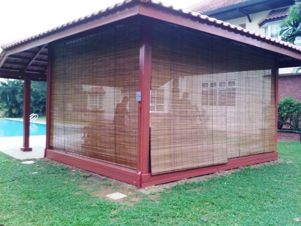 12 fascinating bamboo porch shades photos - Bamboo Patio Shades