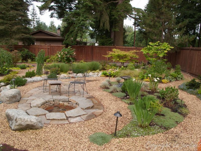 Beautiful Design Pea Gravel Patio