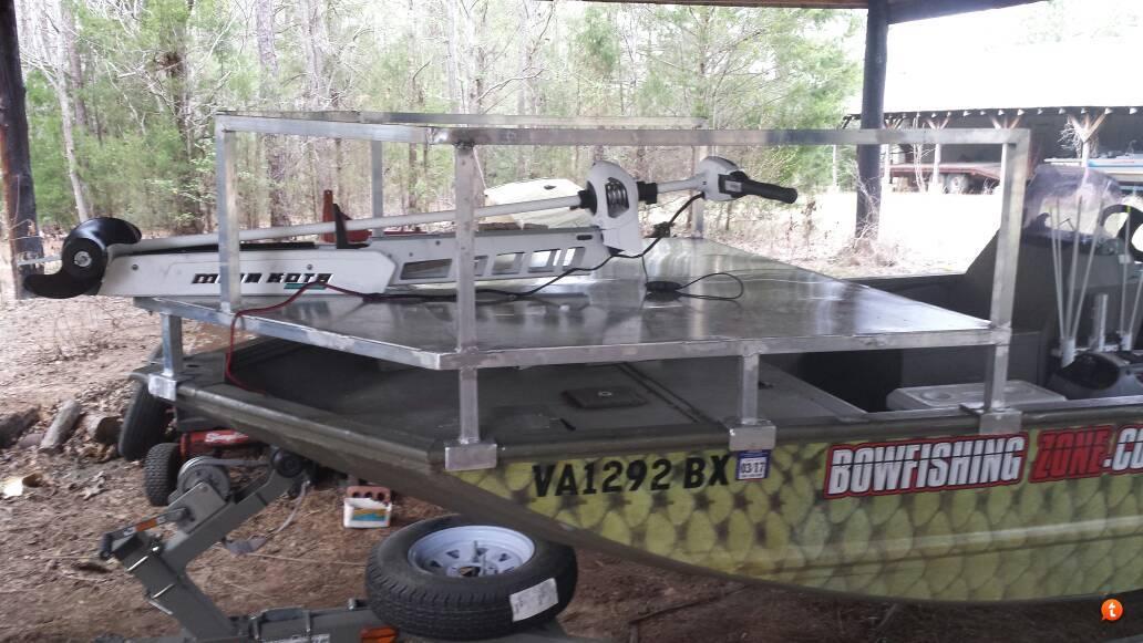 Bowfishing Deck Design