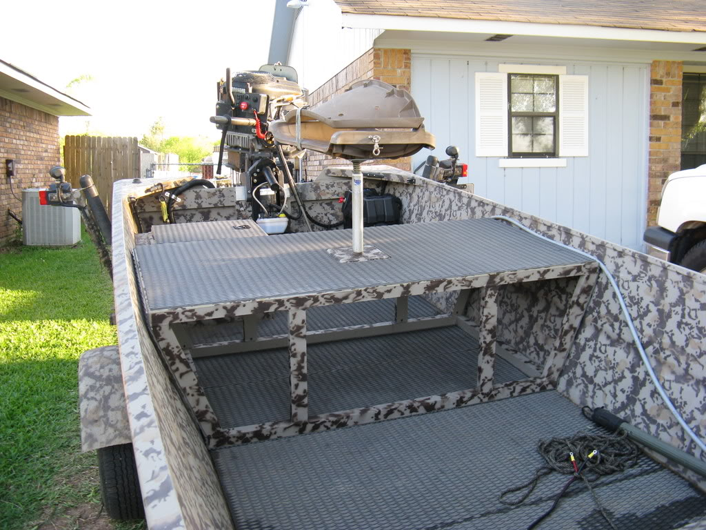 Bowfishing Deck Ideas