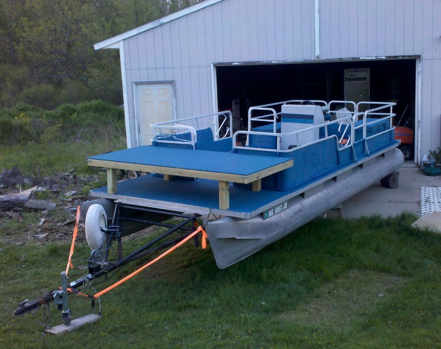 Bowfishing Deck Picture
