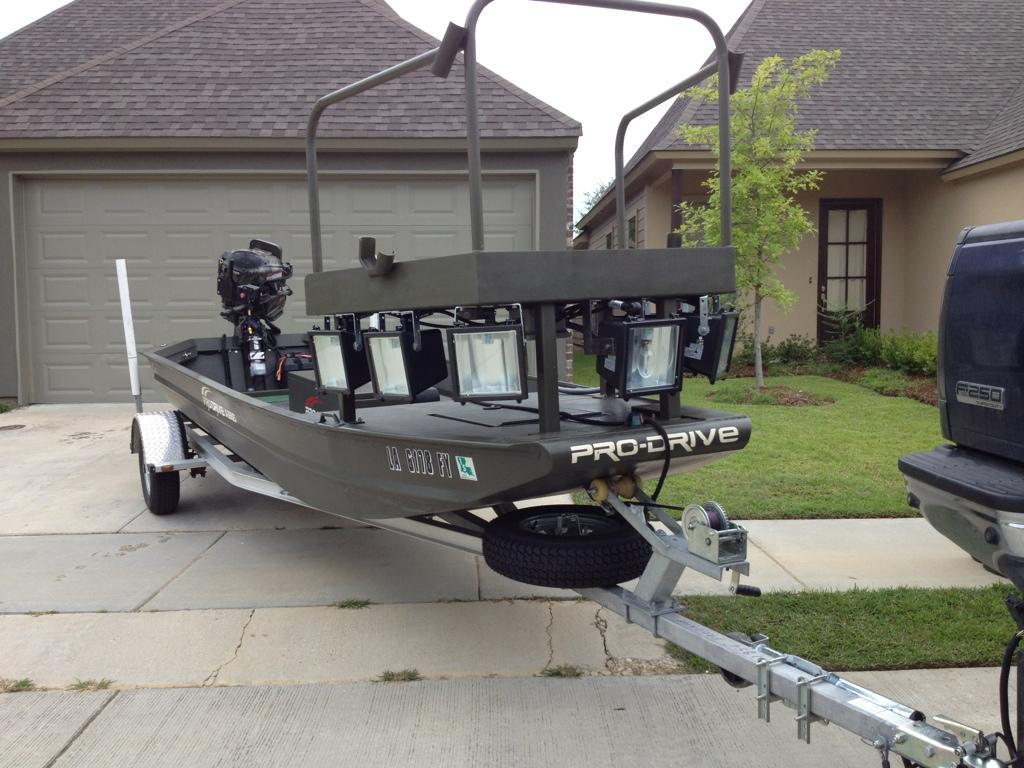 Making Bowfishing Deck Rickyhil Outdoor Ideas