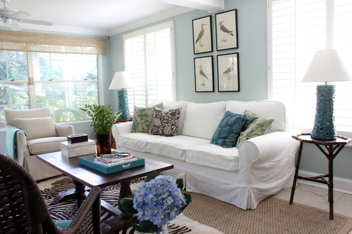 Bright Sunroom Window Treatments