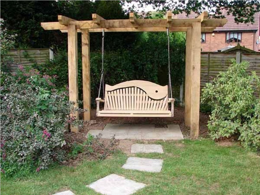 Build Free Standing Porch Swing