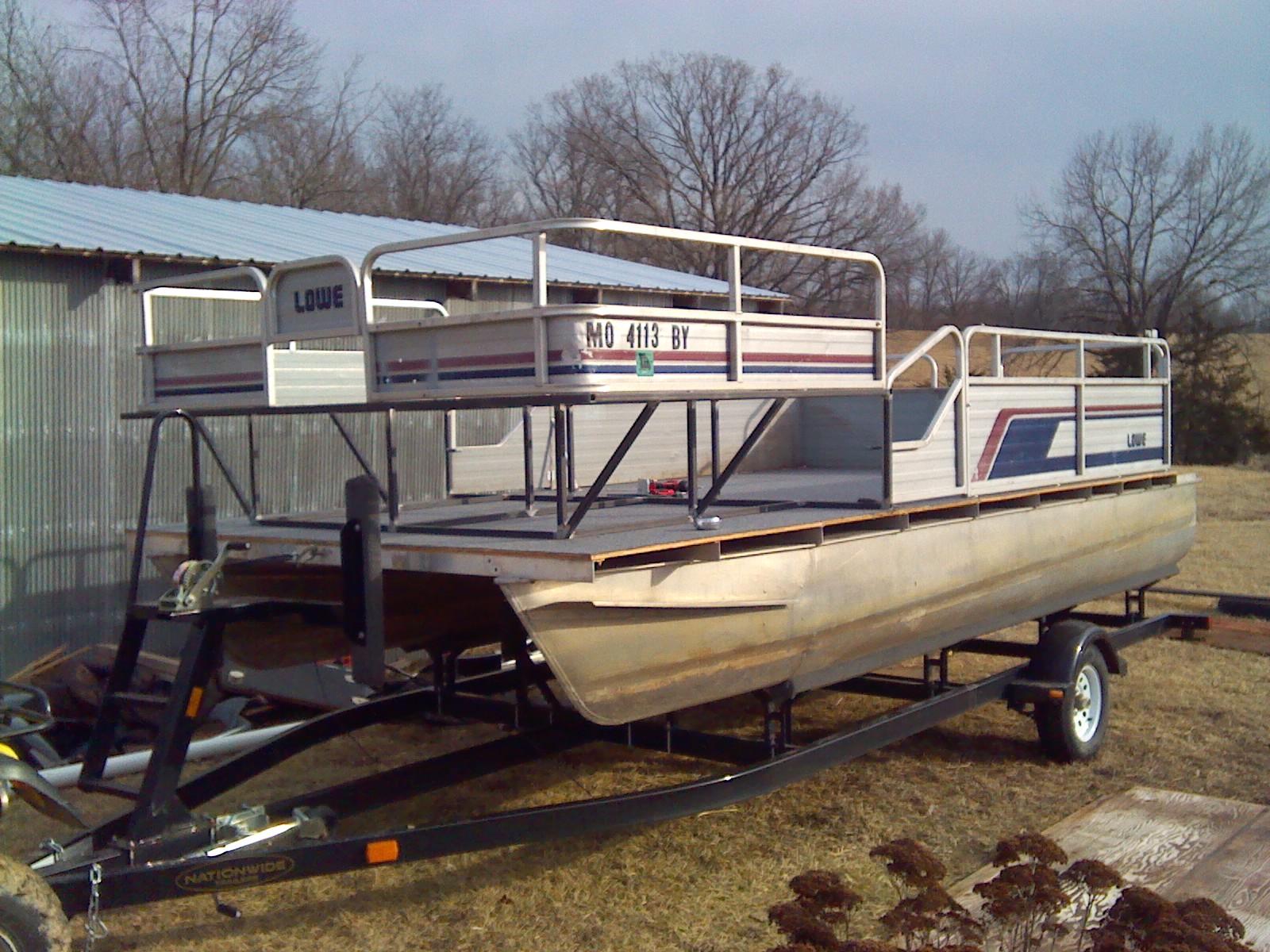 Building Bowfishing Deck