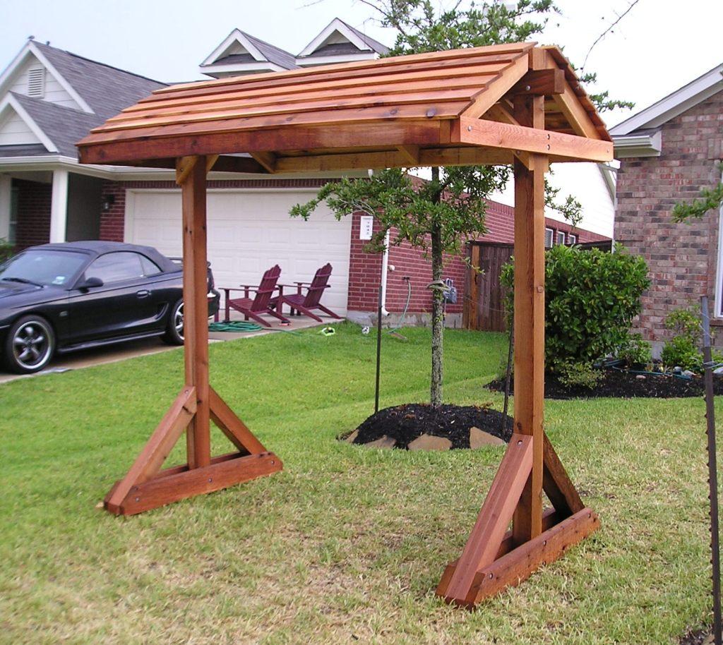 Building A Porch Swing Cedar