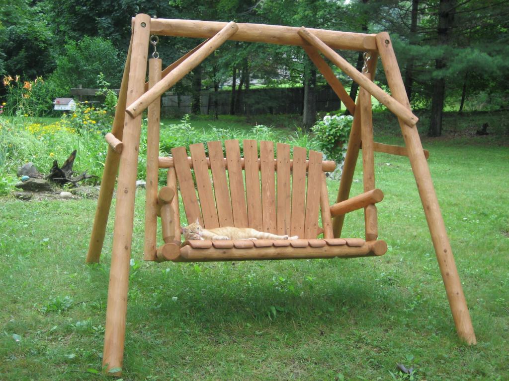 Building A Porch Swing Clipart