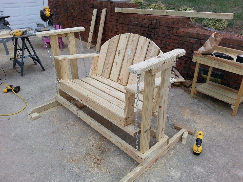 Building A Porch Swing Design