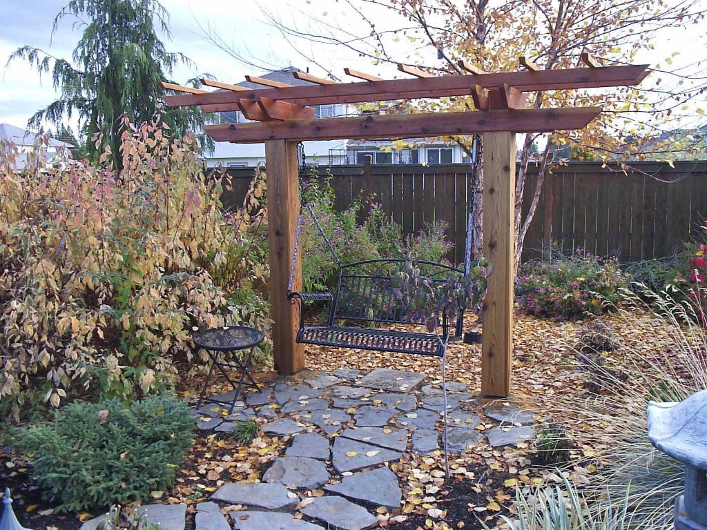 Building A Porch Swing Frames