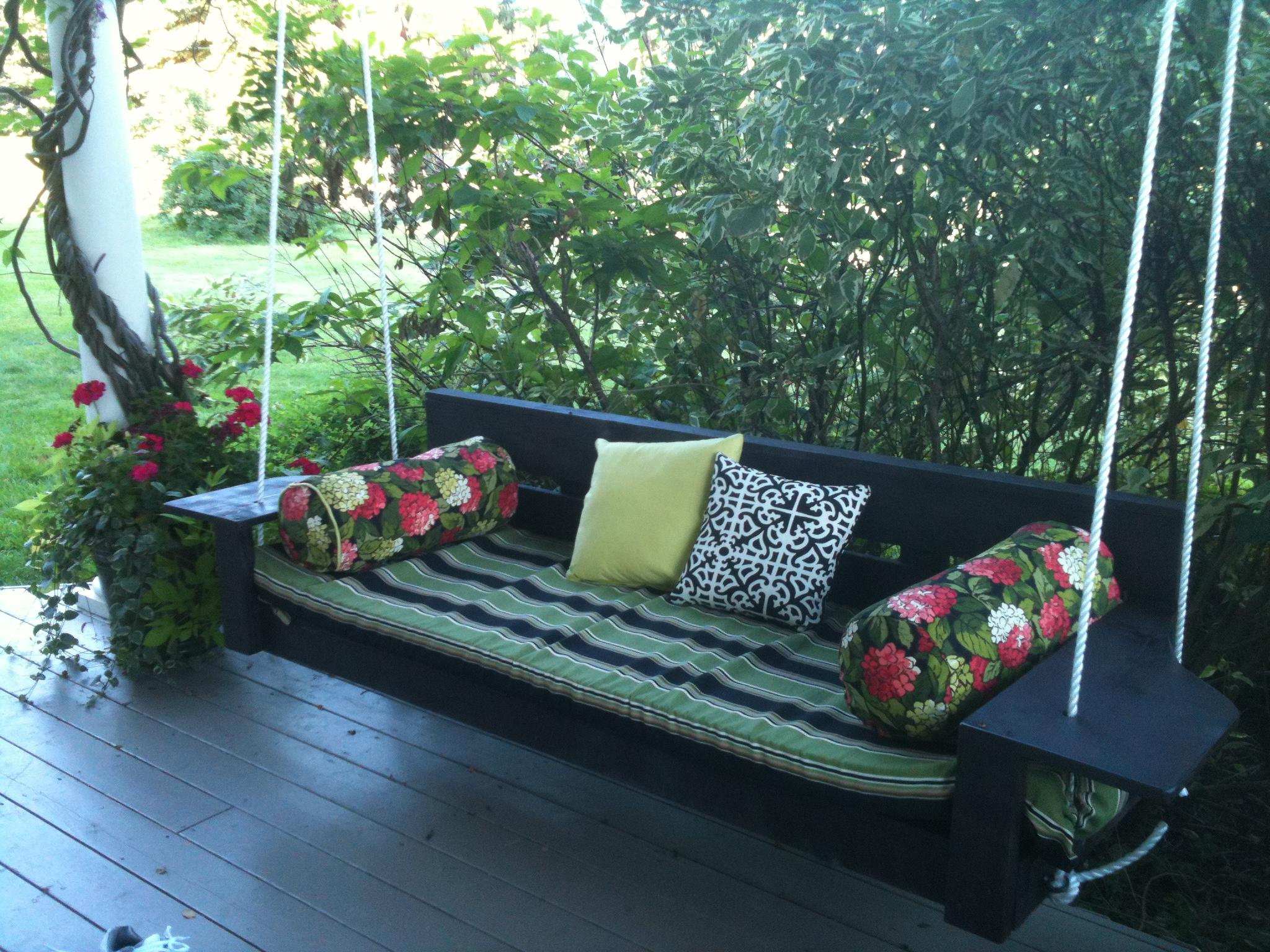 Building A Porch Swing Modern
