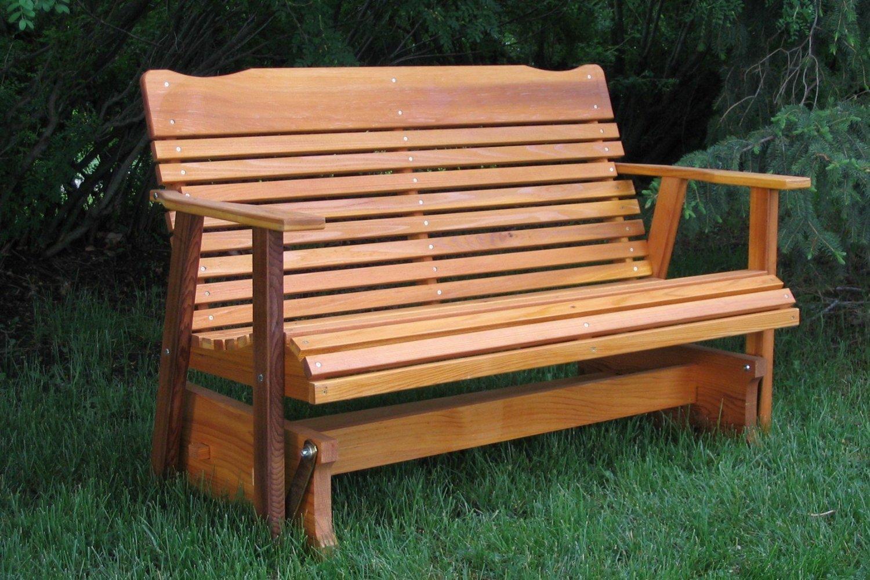 Cedar Front Porch Bench