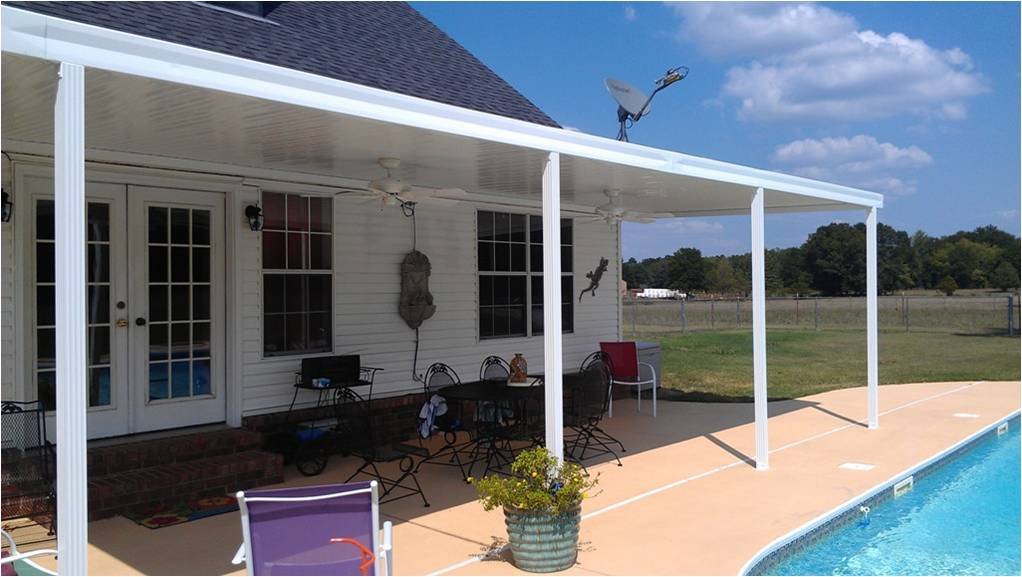 Completed Metal Patio Covers
