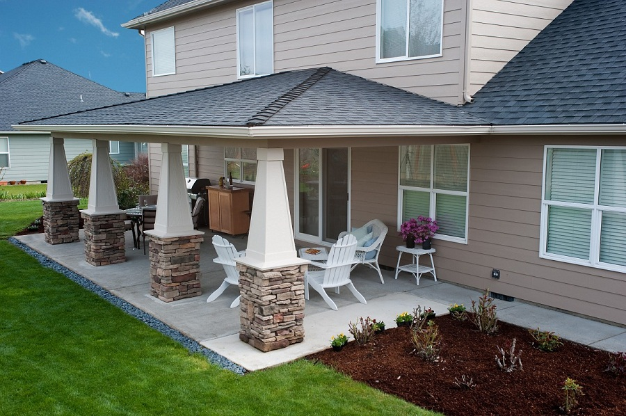 Covered Patio Ideas Cheap
