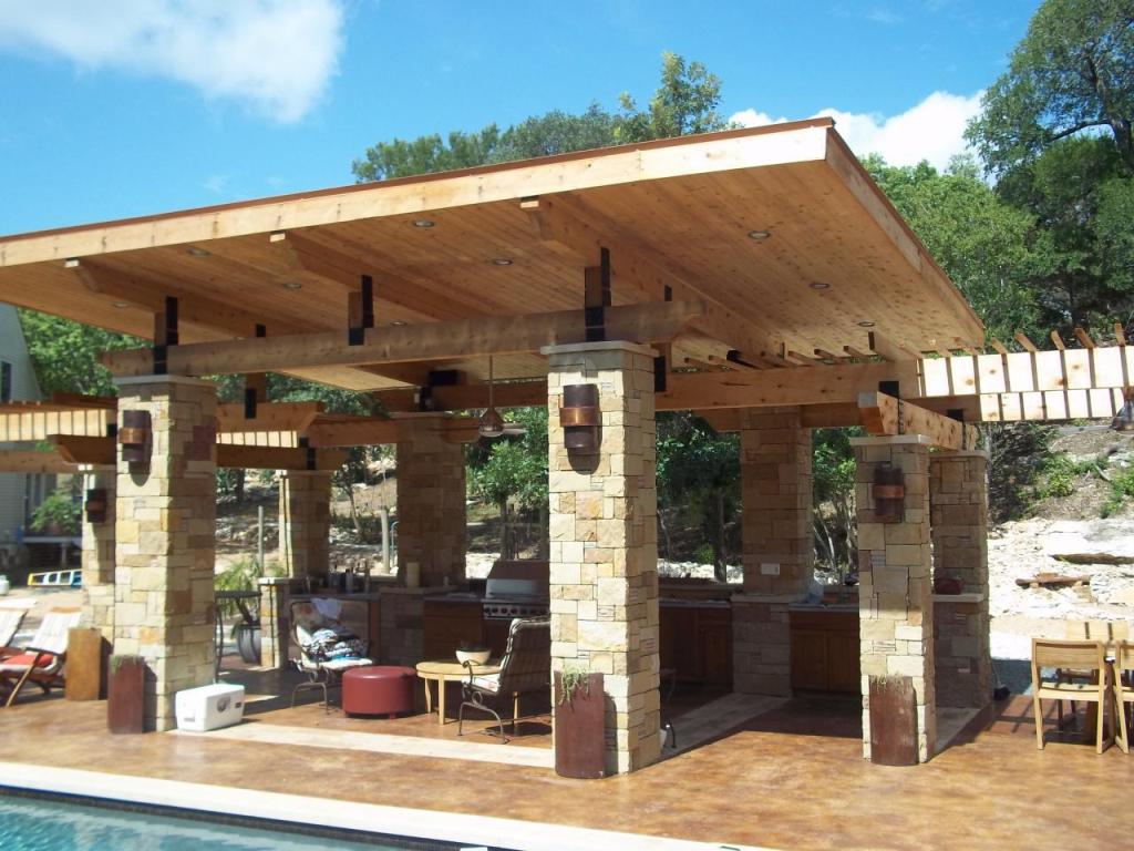 Covered Patio Ideas Material