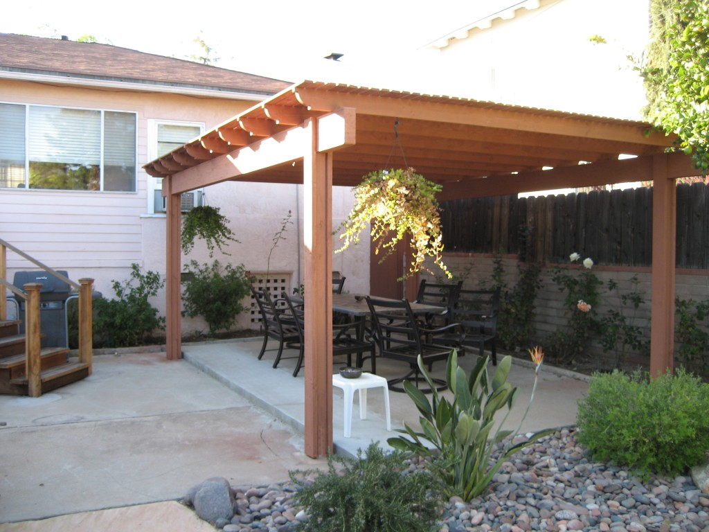 Covered Patio Ideas Wood